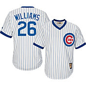 Majestic Men's Replica Chicago Cubs Billy Williams Cool Base White Cooperstown Jersey