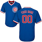 Majestic Men's Custom Cool Base Cooperstown Replica Chicago Cubs 1994-96 Royal Jersey