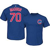 Majestic Triple Peak Men's Chicago Cubs Joe Maddon Royal T-Shirt