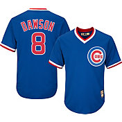 Majestic Men's Replica Chicago Cubs Andre Dawson Cool Base Royal Cooperstown Jersey