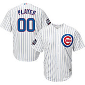 Majestic Men's Full Roster Replica 2016 World Series Champions Chicago Cubs Cool Base Home White Jersey