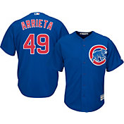 Majestic Men's Replica Chicago Cubs Jake Arrieta #49 Cool Base Alternate Royal Jersey