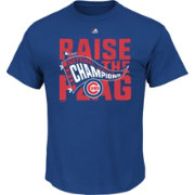 Majestic Men's 2016 NL Champions Locker Room Chicago Cubs Royal T-Shirt