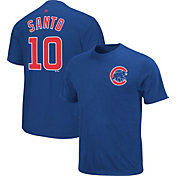 Majestic Triple Peak Men's Chicago Cubs Ron Santo Royal T-Shirt