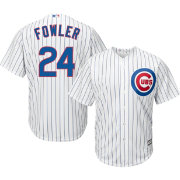 Majestic Men's Replica Chicago Cubs Dexter Fowler #24 Cool Base Home White Jersey