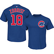 Majestic Men's Chicago Cubs Ben Zobrist #18 Royal T-Shirt