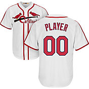 Majestic Men's Full Roster Cool Base Cooperstown Replica St. Louis Cardinals 1967-97 White Jersey
