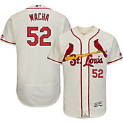 Majestic Men's Authentic St. Louis Cardinals Michael Wacha #52 Alternate Ivory Flex Base On-Field Jersey