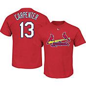 Majestic Men's St. Louis Cardinals Matt Carpenter #13 Red T-Shirt