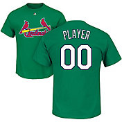 Majestic Men's Full Roster St. Louis Cardinals Green T-Shirt