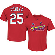 Majestic Men's St. Louis Cardinals Dexter Fowler #25 Red T-Shirt