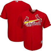 Majestic Men's Replica St. Louis Cardinals Cool Base Alternate Red Jersey