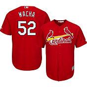 Majestic Men's Replica St. Louis Cardinals Michael Wacha #52 Cool Base Alternate Red Jersey