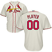 Majestic Men's Full Roster Cool Base Replica St. Louis Cardinals Alternate Ivory Jersey