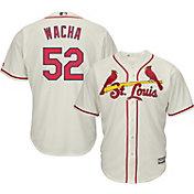 Majestic Men's Replica St. Louis Cardinals Michael Wacha #52 Cool Base Alternate Ivory Jersey