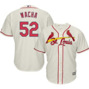 Majestic Men's Replica St. Louis Cardinals Michael Wacha #52 Cool Base Alternate Ivory Jersey