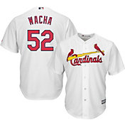 Majestic Men's Replica St. Louis Cardinals Michael Wacha #52 Cool Base Home White Jersey