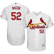 Majestic Men's Authentic St. Louis Cardinals Michael Wacha #52 Home White Flex Base On-Field Jersey