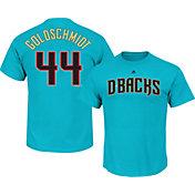 Majestic Men's Arizona Diamondbacks Paul Goldschmidt #44 Blue T-Shirt