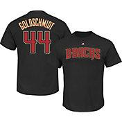 Majestic Men's Arizona Diamondbacks Paul Goldschmidt #44 Black T-Shirt