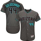 Majestic Men's Authentic Arizona Diamondbacks Paul Goldschmidt #44 Flex Base Alternate Road Grey On-Field Jersey