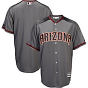 Majestic Men's Replica Arizona Diamondbacks Blank #X Cool Base Road Grey Jersey