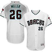 Majestic Men's Authentic Arizona Diamondbacks Shelby Miller #26 Alternate Home White Flex Base On-Field Jersey