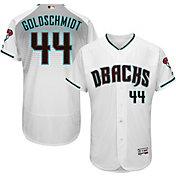 Majestic Men's Authentic Arizona Diamondbacks Paul Goldschmidt #44 Alternate Home White Flex Base On-Field Jersey