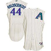 Majestic Men's Arizona Diamondbacks Paul Goldschmidt #44 White Turn Back The Clock Authentic Flex Base Jersey