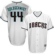 Majestic Men's Replica Arizona Diamondbacks Paul Goldschmidt #44 Cool Base Alternate Home White Jersey