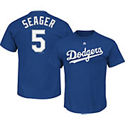 Majestic Men's Los Angeles Dodgers Corey Seager #5 Royal T-Shirt
