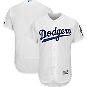 Majestic Men's Authentic Los Angeles Dodgers Home White Flex Base On-Field Jersey