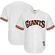 Majestic Men's Replica San Francisco Giants Cool Base White Cooperstown Jersey