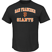 Majestic Men's San Francisco Giants Heart & Soul Black T-Shirt