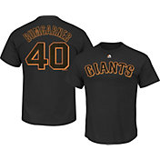 Majestic Men's San Francisco Giants Madison Bumgarner #40 Black T-Shirt