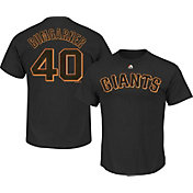 Majestic Triple Peak Men's San Francisco Giants Madison Bumgarner Black T-Shirt