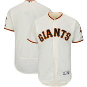 Majestic Men's Authentic San Francisco Giants Home Ivory Flex Base On-Field Jersey