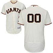 Majestic Men's Full Roster Authentic San Francisco Giants Flex Base Home Ivory On-Field Jersey
