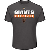 Majestic Men's San Francisco Giants Proven Pastime Grey T-Shirt