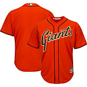 Majestic Men's Replica San Francisco Giants Cool Base Alternate Orange Jersey