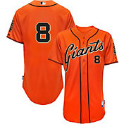 Majestic Men's Authentic San Francisco Giants Hunter Pence #8 Cool Base Alternate Orange On-Field Jersey