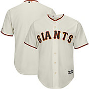 Majestic Men's Replica San Francisco Giants Cool Base Home Ivory Jersey