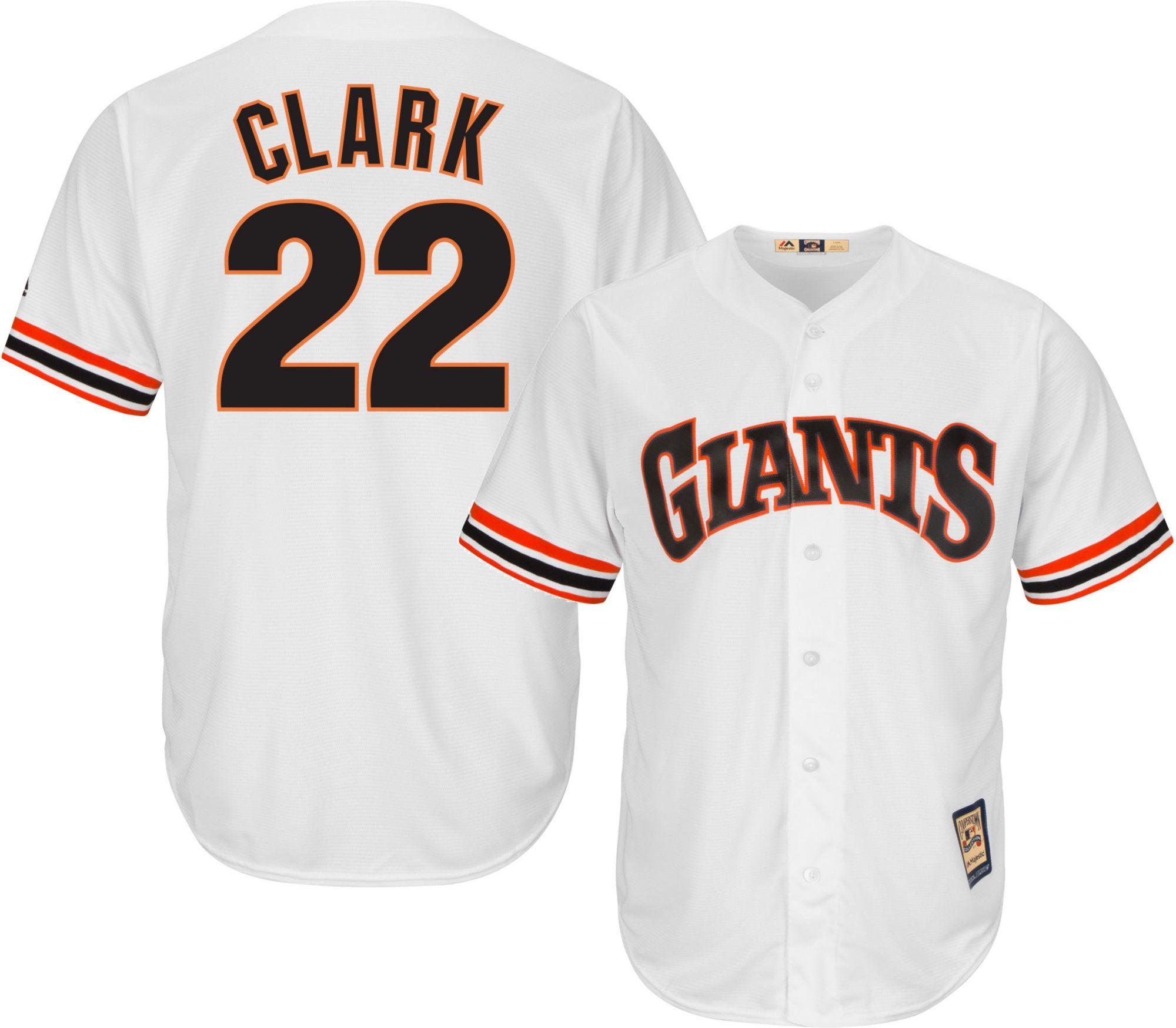 reputable site bb4d7 6eefa san francisco giants will clark jersey