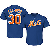 Majestic Men's New York Mets Michael Conforto #30 Royal T-Shirt