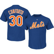 Majestic Men's New York Mets Michael Conforto #30 Royal T-Shirt