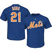 Majestic Triple Peak Men's New York Mets Lucas Duda Royal T-Shirt