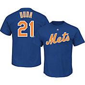 Majestic Men's New York Mets Lucas Duda #21 Royal T-Shirt