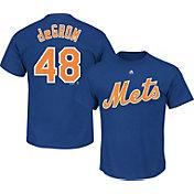Majestic Triple Peak Men's New York Mets Jacob deGrom Royal T-Shirt