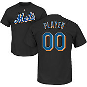 Majestic Men's Full Roster New York Mets Black T-Shirt
