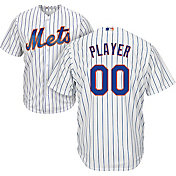 Majestic Men's Full Roster Cool Base Replica New York Mets Alternate Home White Jersey